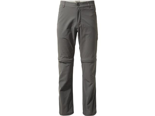 Craghoppers NosiLife Pro Pantalones Convertibles Hombre, elephant